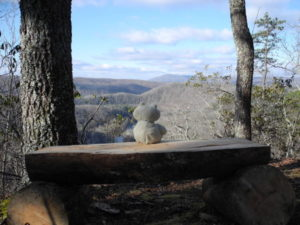 Monongaseneka Trail Overlook at Watoga State Park