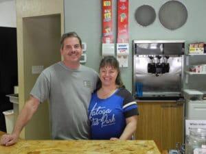 Stewart & Chissie Horner proprietors of Jack Horner's Corner Seebert, WV