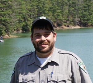 Naturalist Chris Bartley, Watoga State Park