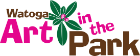 Watoga art in the Park logo