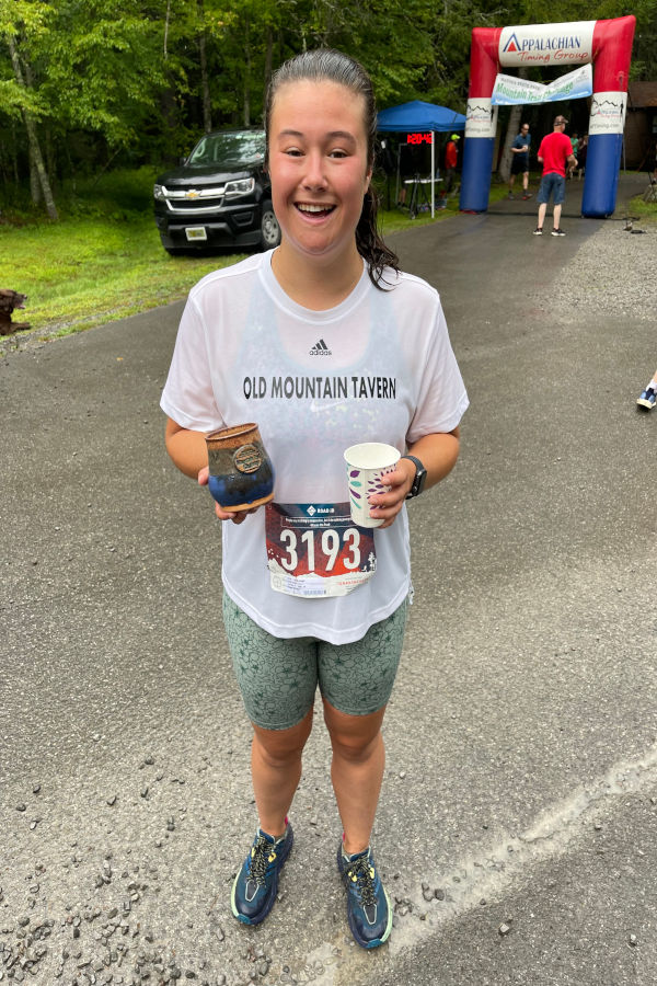 Watoga State Park welcomes this young lady to the races!