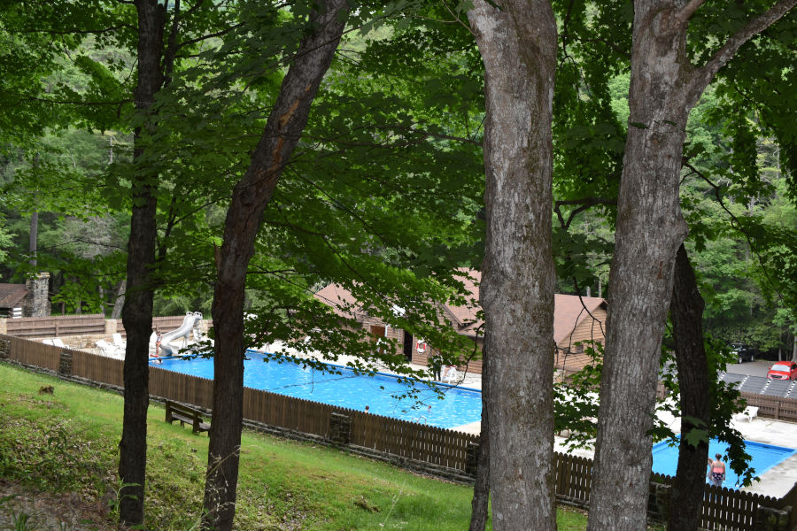 You're almost there! A summer day at the solar-heated pool is priceless.