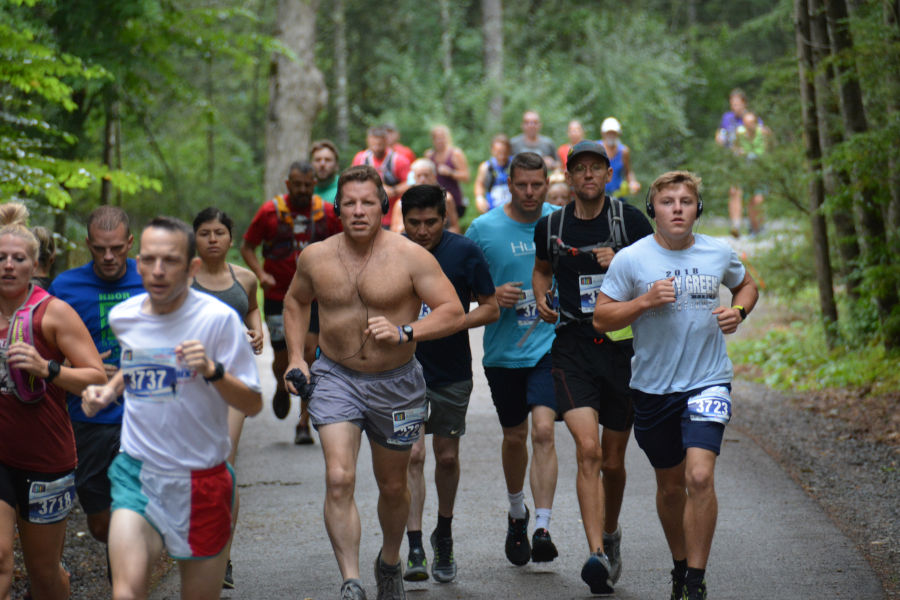 At Watoga, summer isn't complete without the Mountain Trail Challenge Races, held annually on the second Saturday in August. ©Brian Hirt.